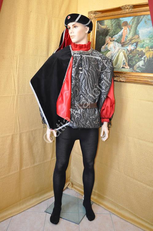 Costume Uomo Medievale con copricapo (6) 24169f29e1f5